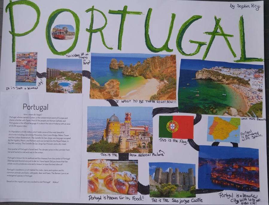 sophia portugal poster