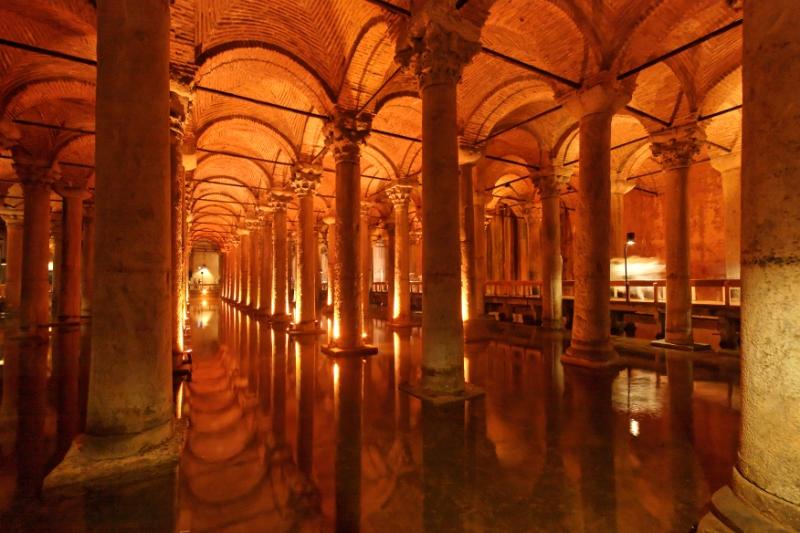 Cistern, Istanbul Turkey