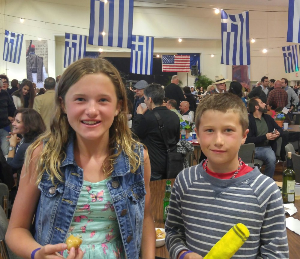 Greekfest kids