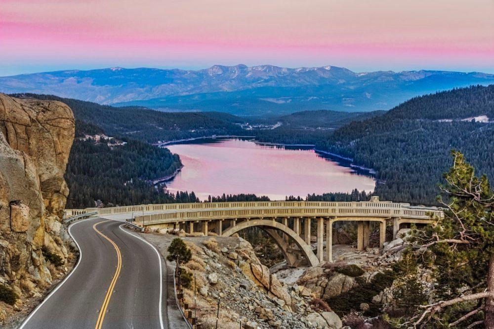 Donner Lake near Truckee, California